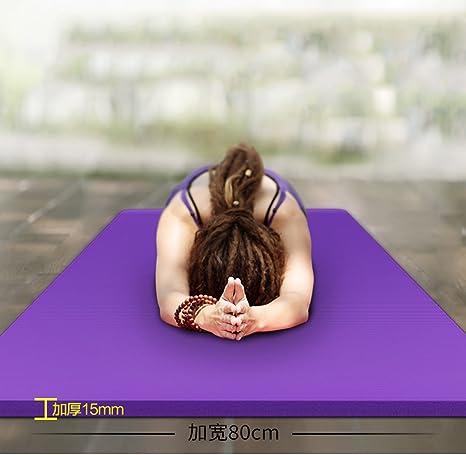 Mei Mei Home Estera De Yoga Extra Gruesa,80 Cm De Ancho, 15 ...