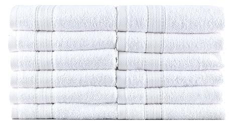 Hotel y Spa y Gimnasio toallas - 100% algodón turco - 700 GSM - 12
