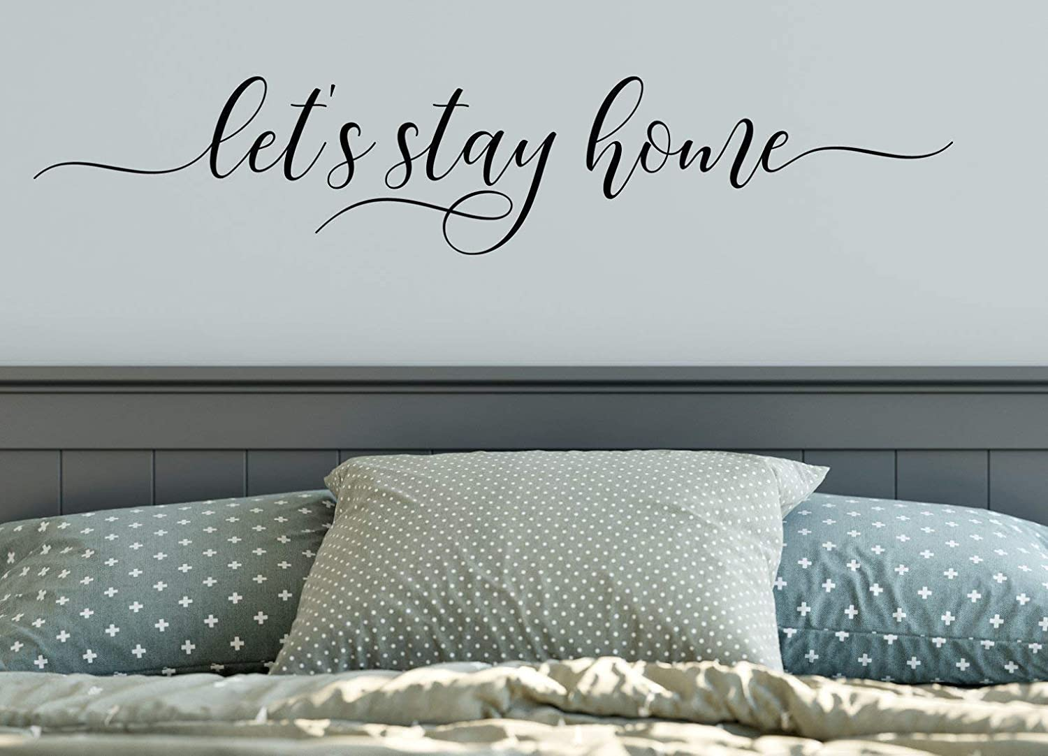 I Do and I Always Will Vinyl Wall Decal Bedroom Decor 9 x 20 Choose Color