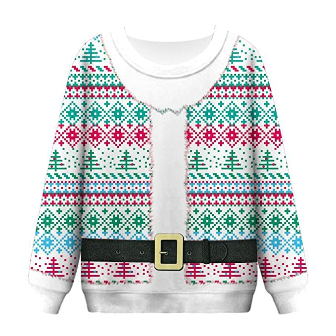 Womens Lightweight Tops Coat Side Open Front Ugly Christmas Camo Jacket for Women