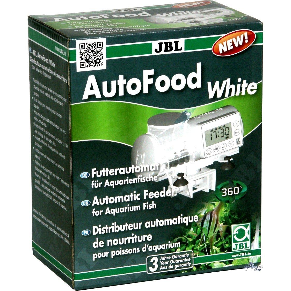 JBL AutoFood BLACK - Distributeur automatique de nourriture noir pour poissons d'aquarium 6061500