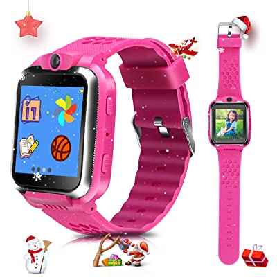 US Store Smart Watches for Kids Digital Game Watches Toys Boys Girls Age 3-12 Learning Toys Smartwatches Touchscreen Puzzle Games Video Recording Camera Watches for Kids Birthday Gifts (Pink): Electronics