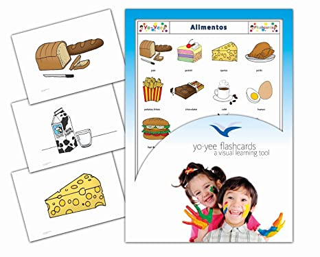 Tarjetas de vocabulario - Food and Drinks Flashcards in Spanish
