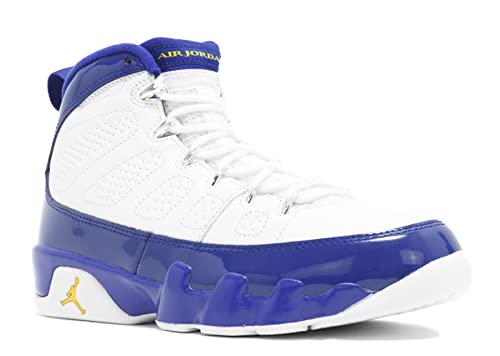 c6bb0ae92bd7 Image Unavailable. Image not available for. Color  Nike AIR Jordan 9 Retro  White Tour Yellow-Concord ...