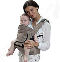 Porte-bébé - 100% coton - Siège à hanches (Hip Seat) + d2ffdc64ef6
