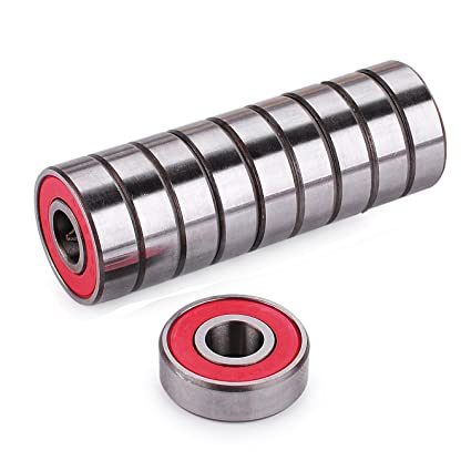 Precision 608 RS Abec 9 Bearings for Scooters,Longboards and Skateboards