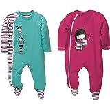 Baby Butt Schlafanzug 2er-Pack mit Druckmotiv