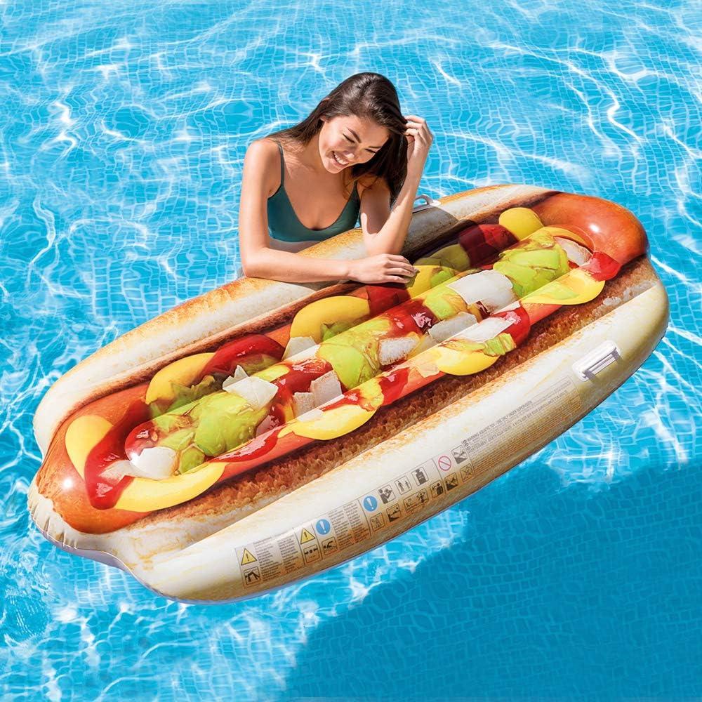 INTEX Matelas Hot Dog