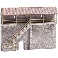 Faller FA 232353–Ciudad Antigua Muro con Escalera, Accesorios