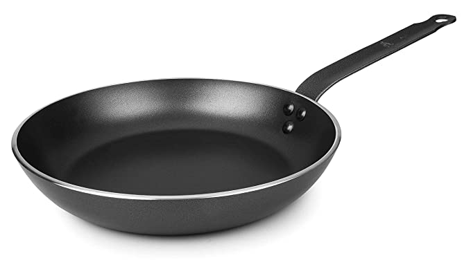 Lacor - 23616 - Sartén Robust Aluminio Antiadherente 16 cm. - Negro: Amazon.es: Hogar