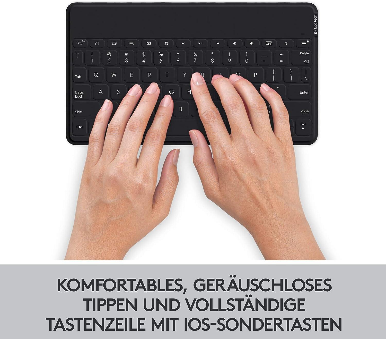 Logitech Keys To Go Kabellose Tablet Tastatur Computer Zubehör
