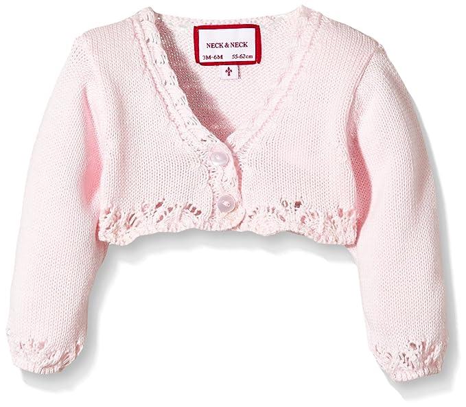 neck & neck Torera, Chaqueta Bebe, Light Pink/Rosa Claro 30, ...