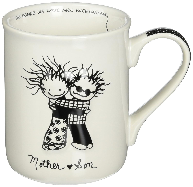 Mother and Son Stoneware Gift Mug