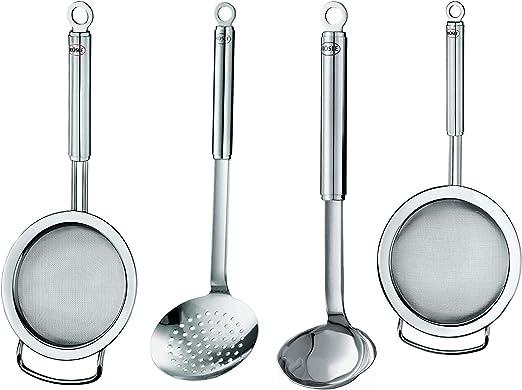 Amazon.com: Rösle Stainless Steel Kitchen Utensils Set ...