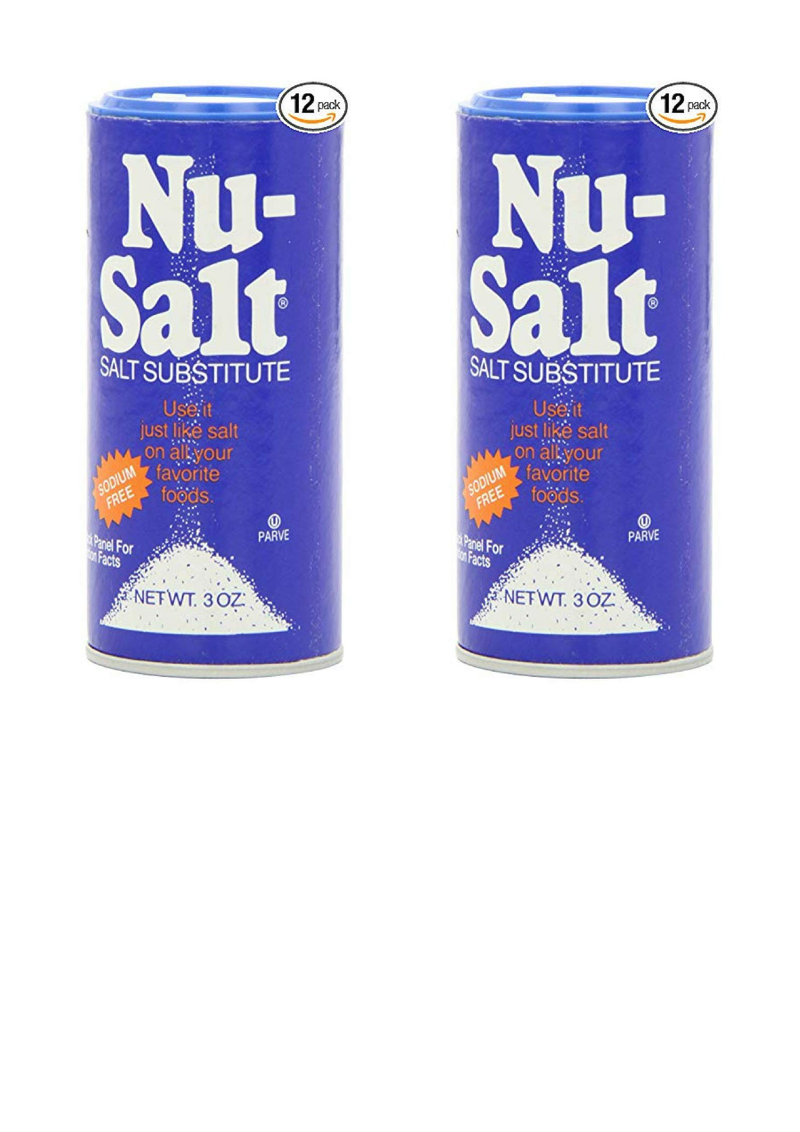 Nu-Salt, 3-Ounce Shaker (24 Pack)