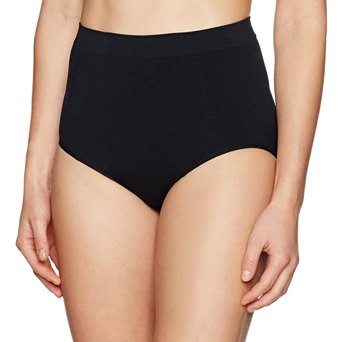 34ba92e9cd Amazon.com  Arabella Women s Seamless Brief Shapewear with Tummy ...