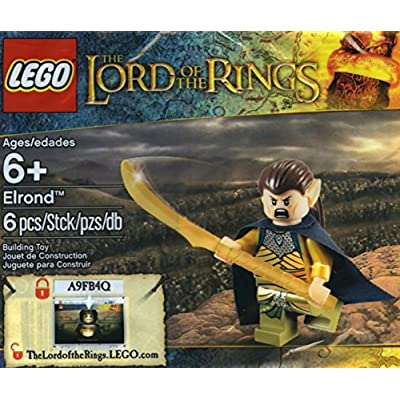 LEGO Lord of the Rings Elrond Exclusive Minifigure (5000202): Toys & Games