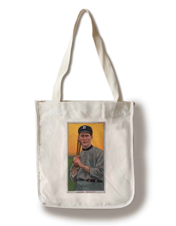 ブルックリンドジャース – ジョンHummel – Canvas 野球カード – 24 x Canvas 36 Giclee Print LANT-21907-24x36 B01841MP9A Canvas Tote Bag Canvas Tote Bag, marcadimoda:ff75bad9 --- rdtrivselbridge.se