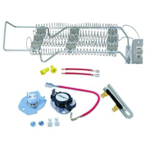 Siwdoy 4391960 279816 3392519 Dryer Heating Element Kit Compatible with Whirlpool Dryer WP4391960