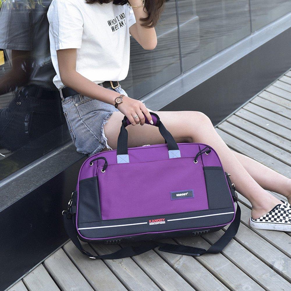 Color : Green Bishelle-MSB Mens Shoulder Messenger Bag Canvas Duffel Bag Oversized Travel Overnight Weekender Travel Luggage for Men Women
