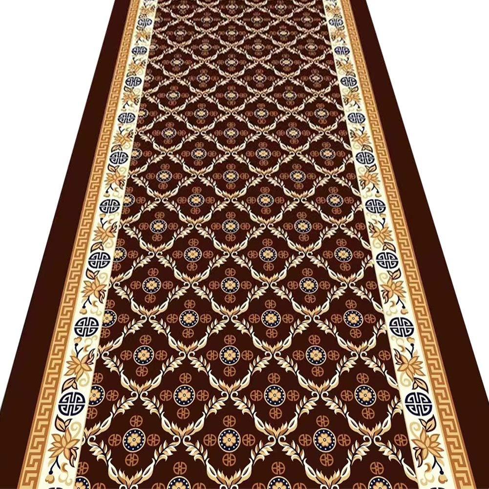ZENGAI-Läufer Teppich Flur Läufer Teppiche Flur Gang Türöffnung Matten Waschbar Dauerhaft Antistatisch Schlafzimmer Wohnzimmer Restaurant Bereich Teppich (Farbe : B, größe : 1.2X2m)