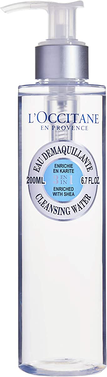 L'Occitane Shea 3-In-1 Cleansing Water, 200ml