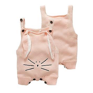 c2fb972cb zooarts para 9 – 36 meses recién nacido bebé niñas conejo de una pieza  oreja gato