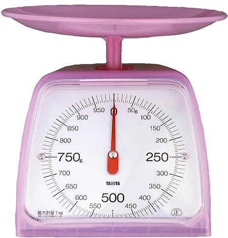 Báscula de cocina analógica Tanita KA-001-CP (1 kg), color