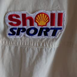 Amazon Shellsports シェル Carandbike ワッペン 白 ワッペン アップリケ 通販