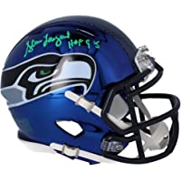 "$79 » Steve Largent Seattle Seahawks Autographed Riddell Chrome Alternate Speed Mini Helmet with""HOF 95"" Inscription - Fanatics Authentic…"