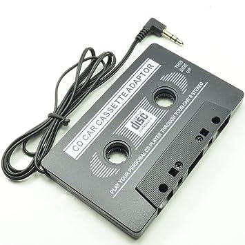 Adaptador Deet® para radio de coche en forma de cinta de casete, con adaptador de ...