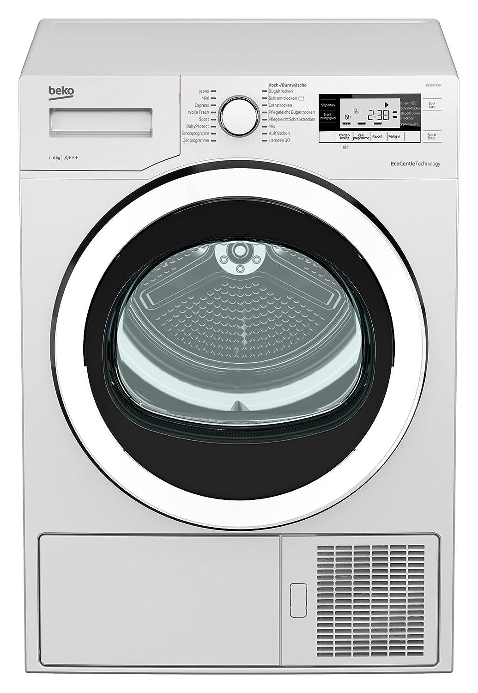 Beko 8535 RX0 blanco Wärmepumpentrockner, A+++, 8kg: Amazon ...