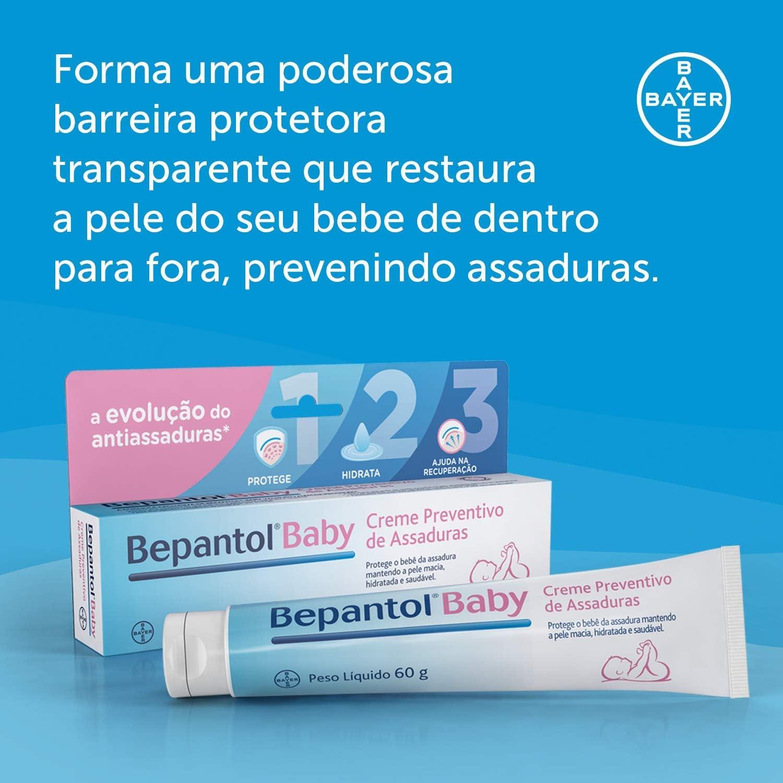 Bepantol Baby Creme Preventivo de Assaduras Para Bebês 60G, Bepantol Baby,  60G | Amazon.com.br