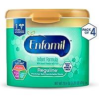 4-Pack Enfamil Reguline Infant Formula Reusable Powder Tub, 20.4 oz