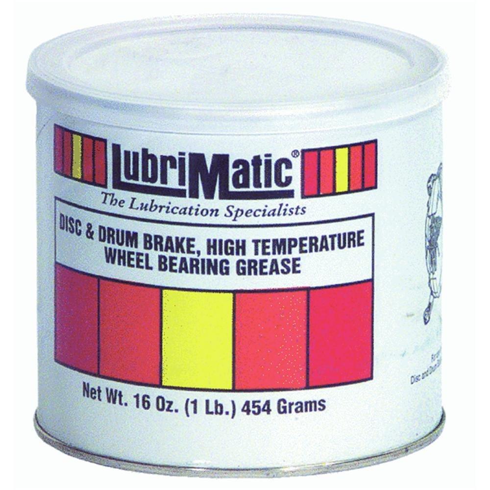 LubriMatic 11380 High Temp Disc/Drum Brake Wheel Bearing Grease, 16 oz. Can
