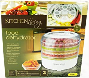 Kitchen Living 5 Tray Electric Food Dehydrator