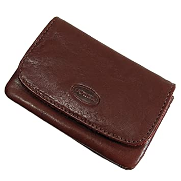 9415cc1646a83 BOCCX kleine Herren Gürtelbörse Leder Geldbörse Portemonnaie Geldbeutel  10011 präsentiert von GoBago (Braun)