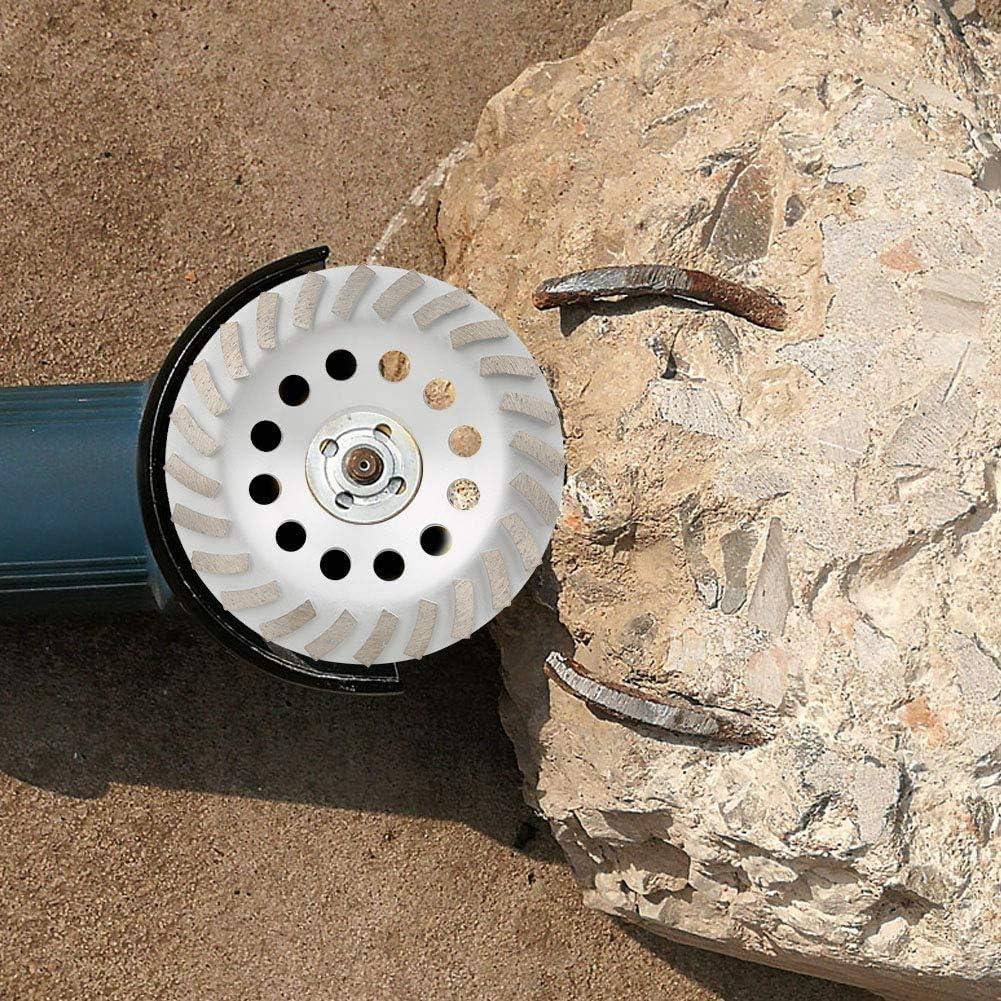 Muela de diamante para hormig/ón lijadora de diamante piedra natural granito 175 mm piedra mamposter/ía