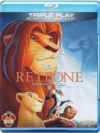 Il re leone special edition blu ray dvd e copy : amazon.it: roger