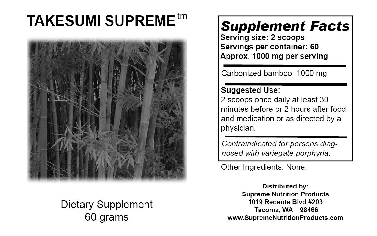 Takesumi Supreme Dual Pack- Works with Master Cleanse Diet Detox Kit & Colon Cleanser for Weight Loss- Flush Toxins