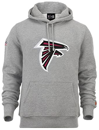 Cheap New Era NFL Atlanta Falcons Team Logo Hoodie Grey Farbe Grey  for cheap