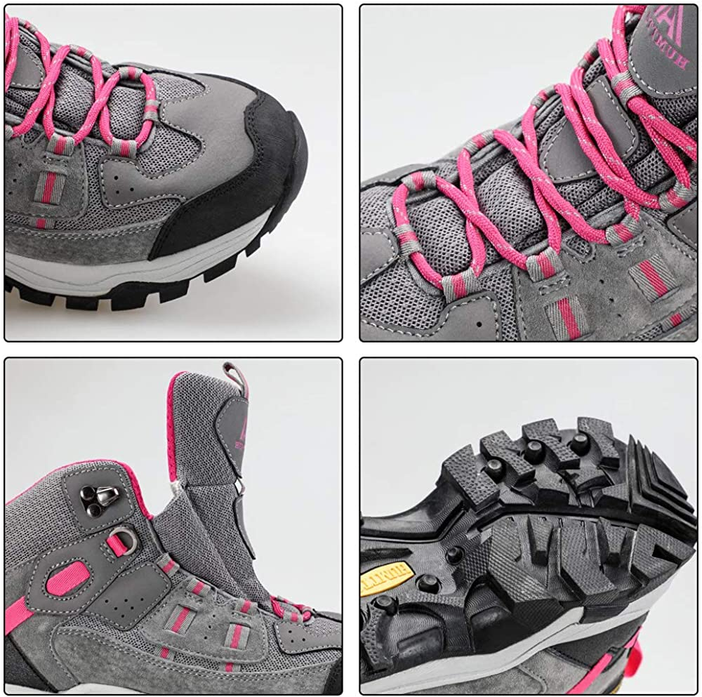 Hiking Boot Women Waterproof Lightweight Outdoor Climbing Trekking Shoes