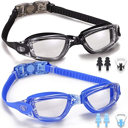dad970f9e4c Amazon.com   Noorlee Swim Goggles