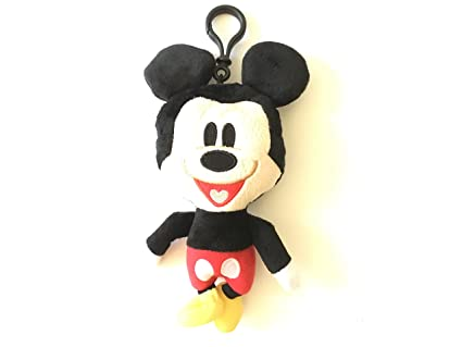 Amazon.com: Disney Mickey Mouse de peluche llavero/Coin ...