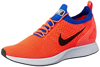 huge selection of b9b01 e984f Image Unavailable. Image not available for. Color  Nike Men s Air Zoom  Mariah Flyknit Racer Running Shoes-Total Crimson Black Racer