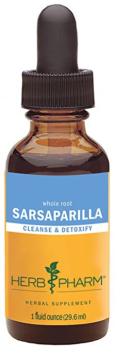 Herb Pharm Sarsaparilla Extract for Cleansing and Detoxification - 1 Ounce