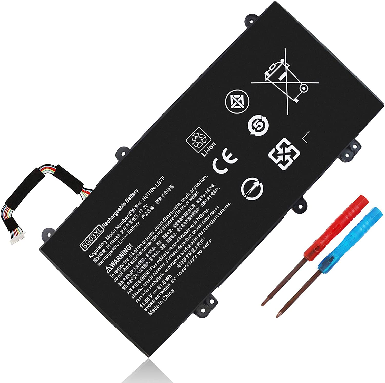 Bateria  SG03XL 11.55V 61.6Wh para HP Envy M7 4 celdas