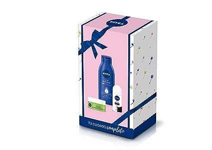 NIVEA Pack Básicos Mujer con 3 Productos de Baño, Caja de ...