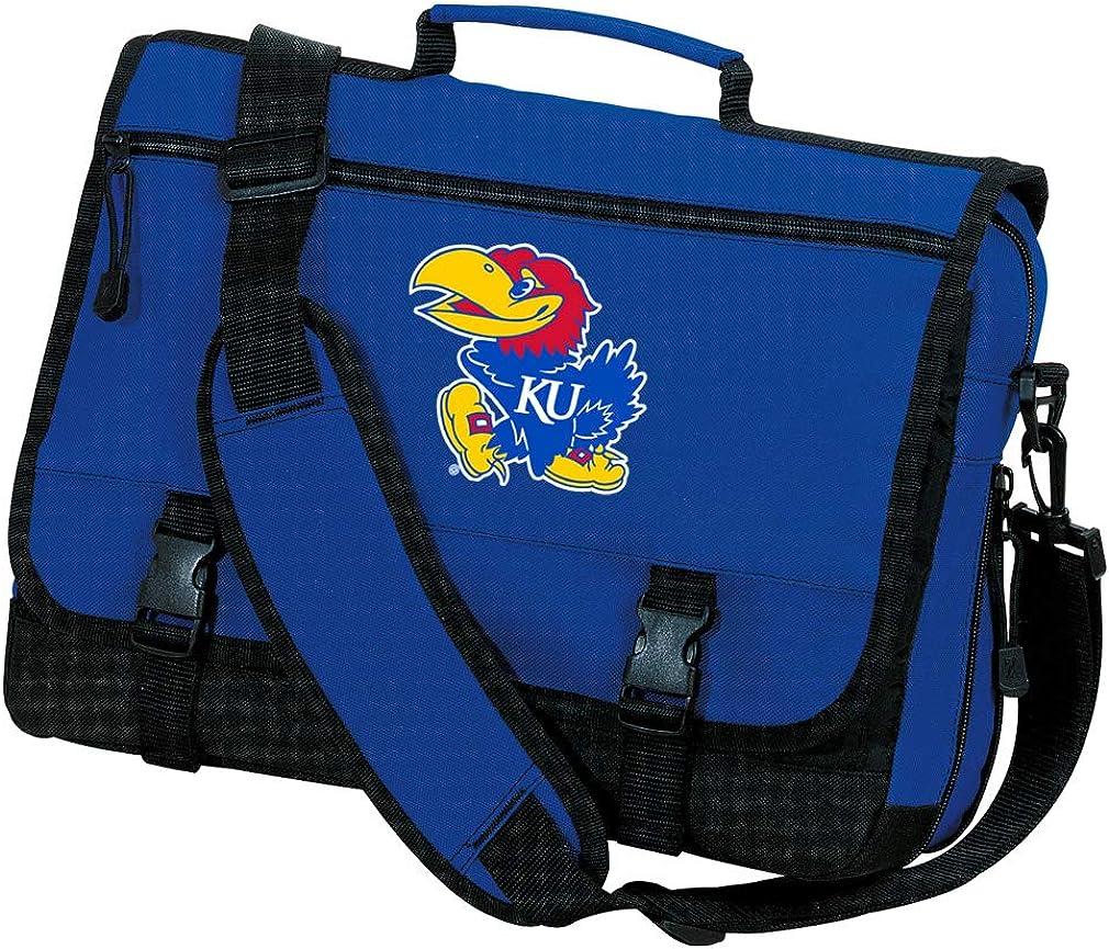 Broad Bay KU Jayhawks Laptop Bag Official University of Kansas Messenger Bags