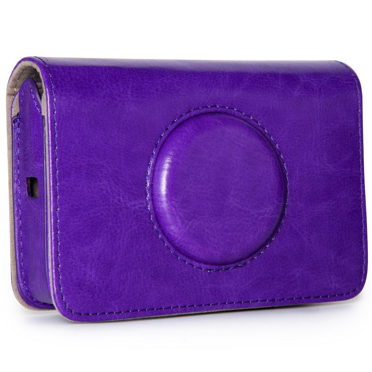 taiyaun cá mara accesorio para Polaroid cá mara Digital de impresió n instantá nea Snap Touch en sinté tica TYC066-purple-1